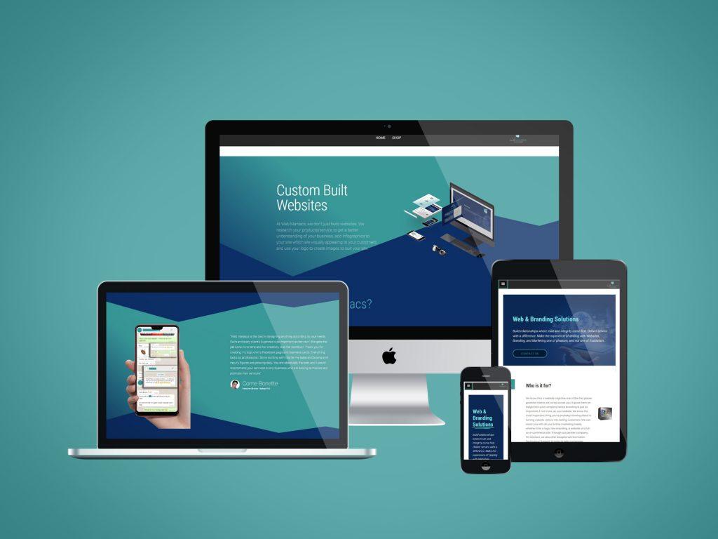 Web Maniacs Website