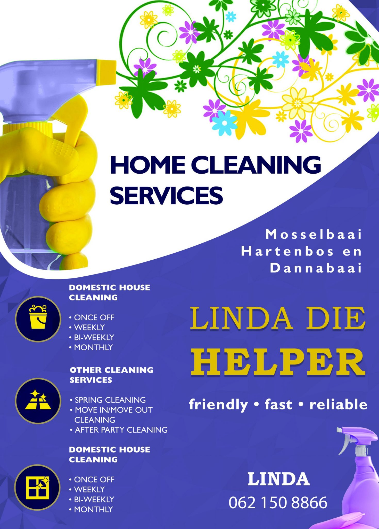 Linda die Helper - Flyer 2