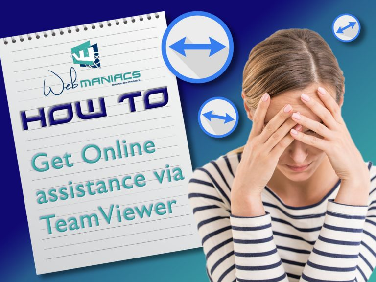 Online and Remote Assistance – Get Teamviewer