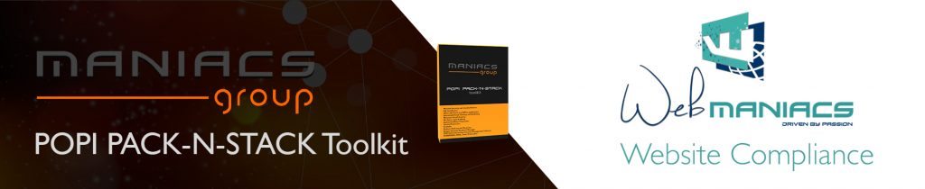 Web Maniacs POPI Pack n Stack Toolkit