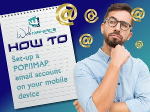 How to set up POP3 IMAP Account on Mobile