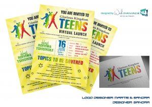 Web Maniacs - Glorious Kingdom Teens Flyer