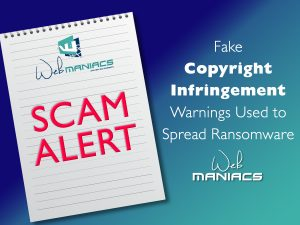 Web Maniacs - Scam Example